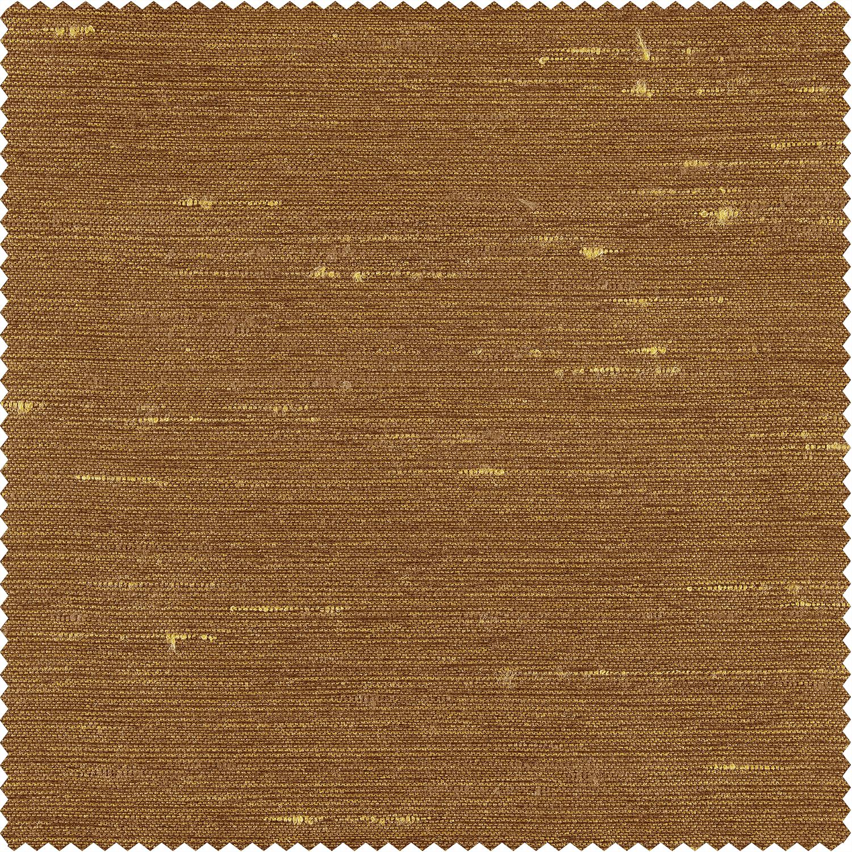 Empire Gold Yarn Dyed Faux Dupioni Silk Swatch
