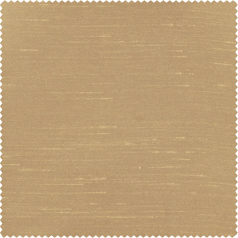 Almond Faux Textured Dupioni Silk Swatch
