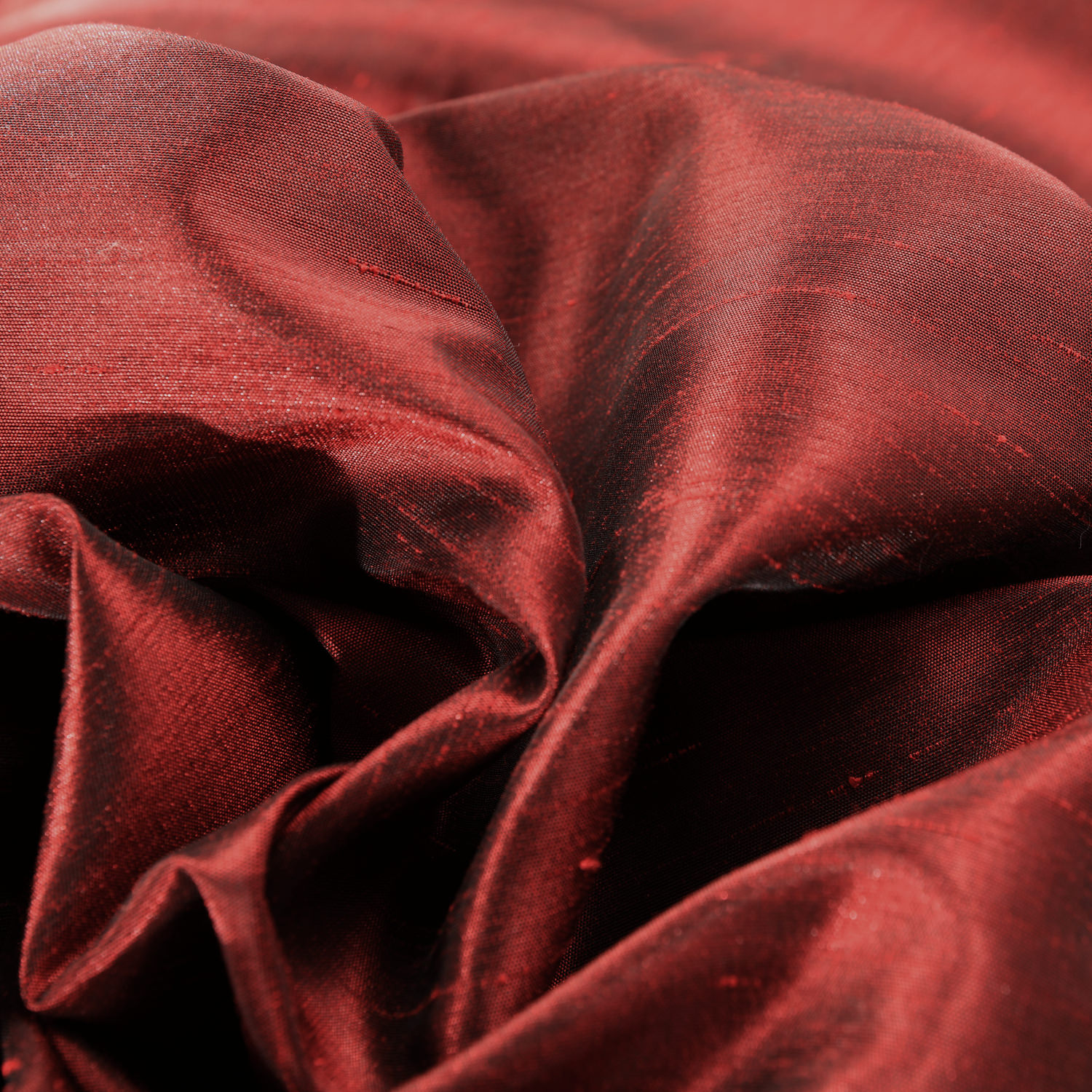 Ruby Faux Textured Dupioni Silk Swatch