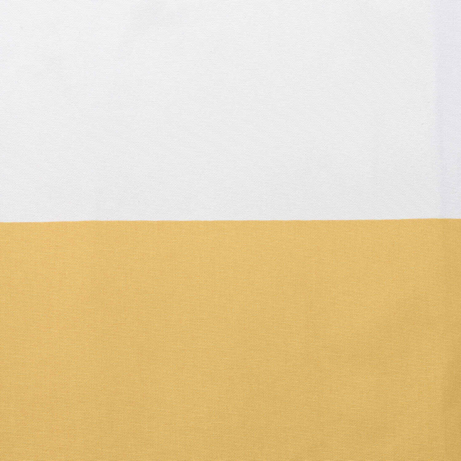 Quince Yellow & Off White Horizontal Stripe Swatch
