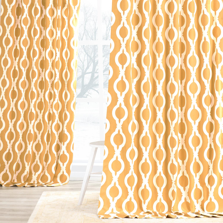 Medina Printed Cotton Curtain