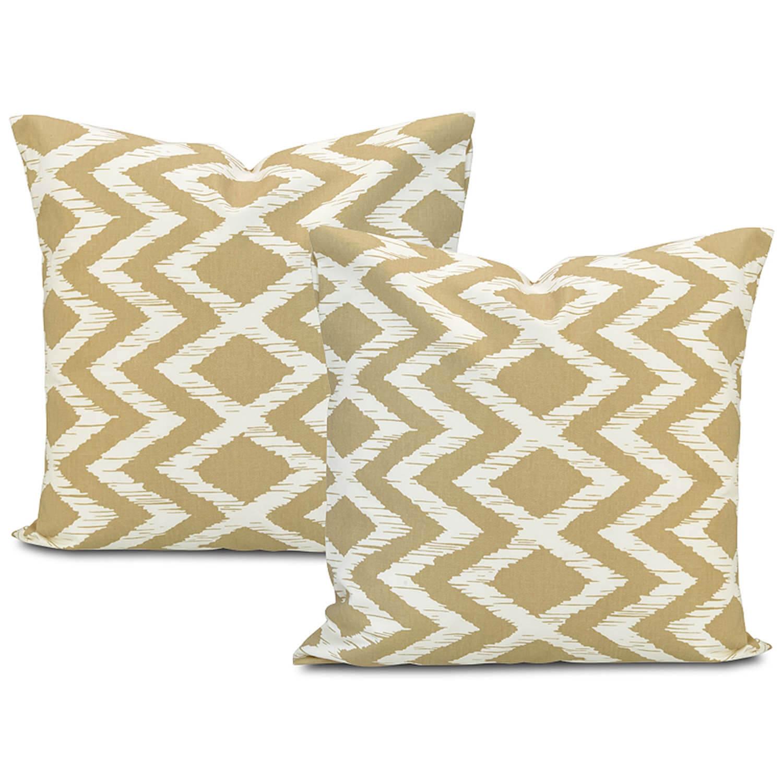 Palu Printed Cotton Cushion Cover (Pair)