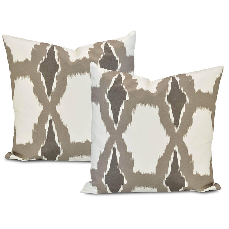 Sorong Printed Cotton Cushion Cover (Pair)
