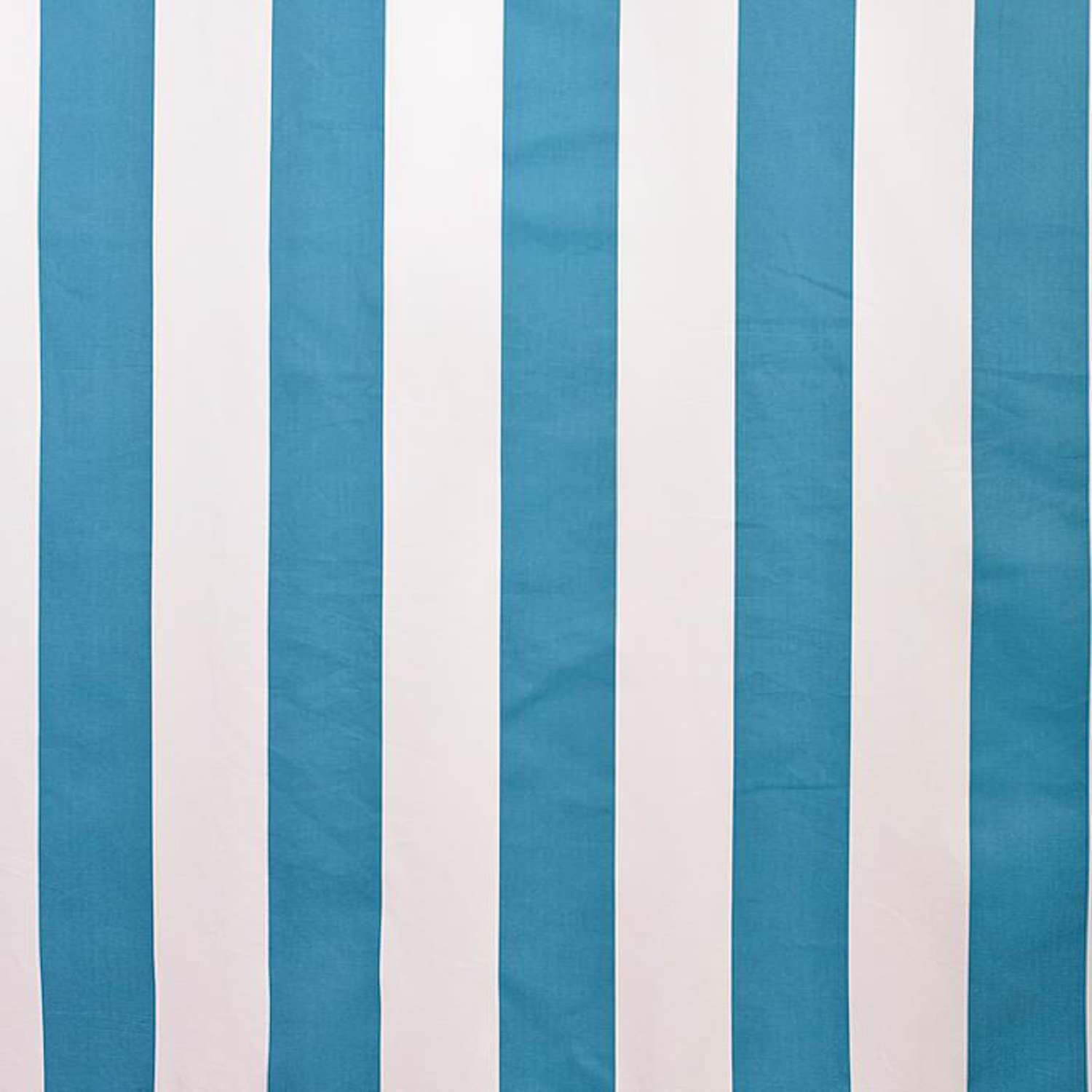 Cabana Teal Printed Cotton Swatch