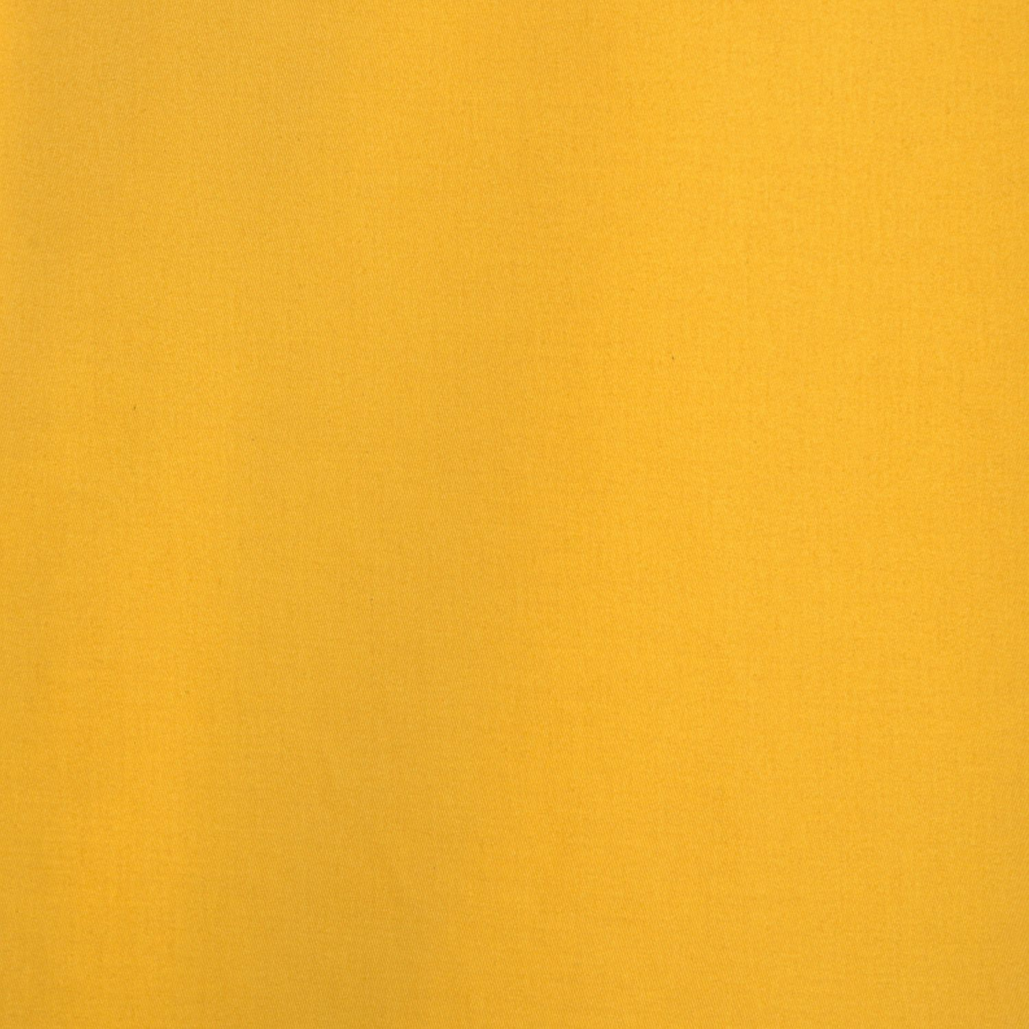 Mustard Yellow Cotton Twill Swatch