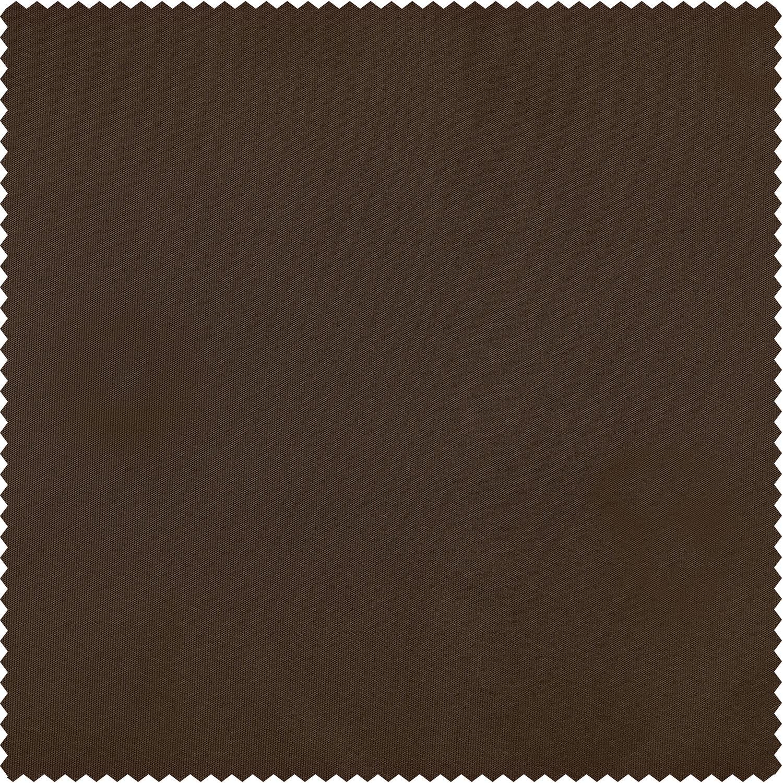 Copper Brown Faux Silk Taffeta Swatch