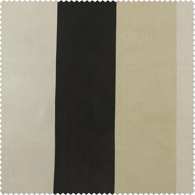 Sake Faux Silk Taffeta Stripe  Swatch