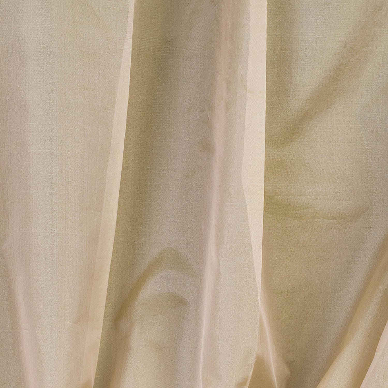 Cream Silk Organza Sheer Swatch
