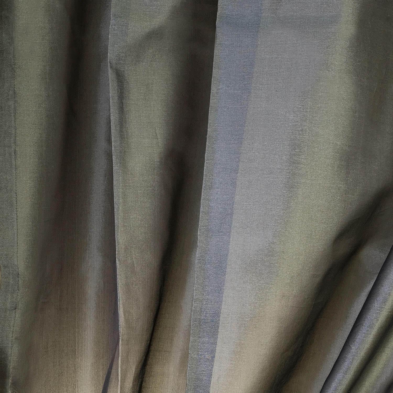 Grey Silk Organza Sheer Swatch