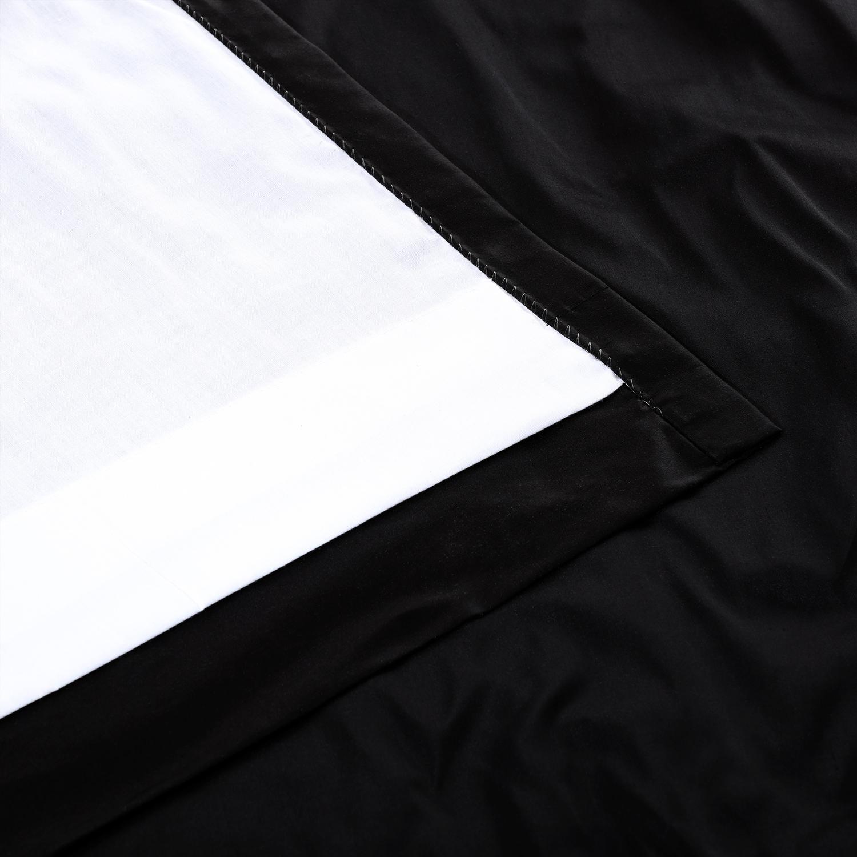 Midnight Black Thai Silk Swatch