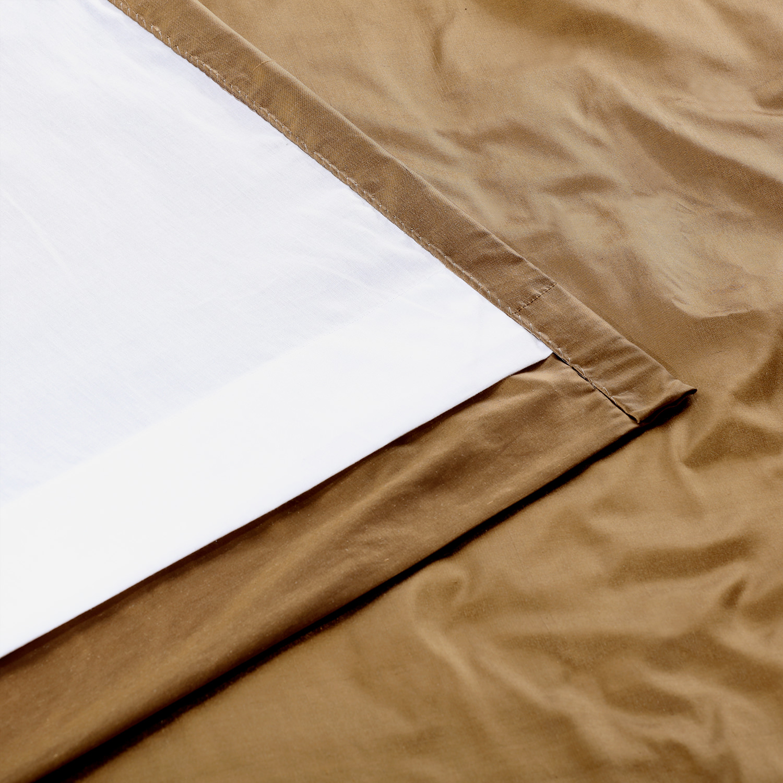 Taupe Gold Thai Silk Swatch