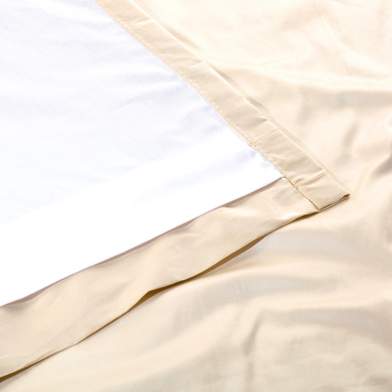 Alabaster Cream Thai Silk Swatch