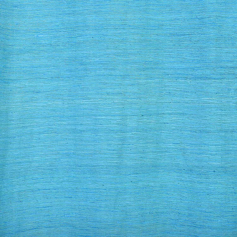 Cozumel Blue Raw Silk Swatch