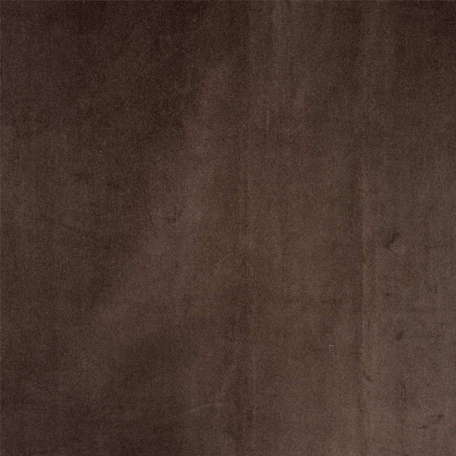 Ash Brown Vintage Cotton Velvet Swatch