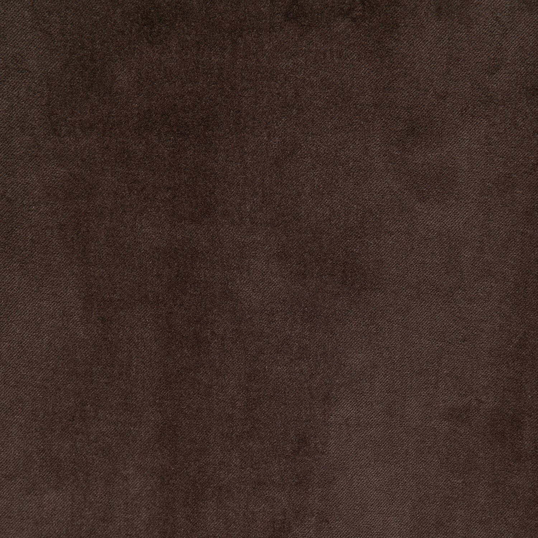 Chocolate Vintage Cotton Velvet Swatch