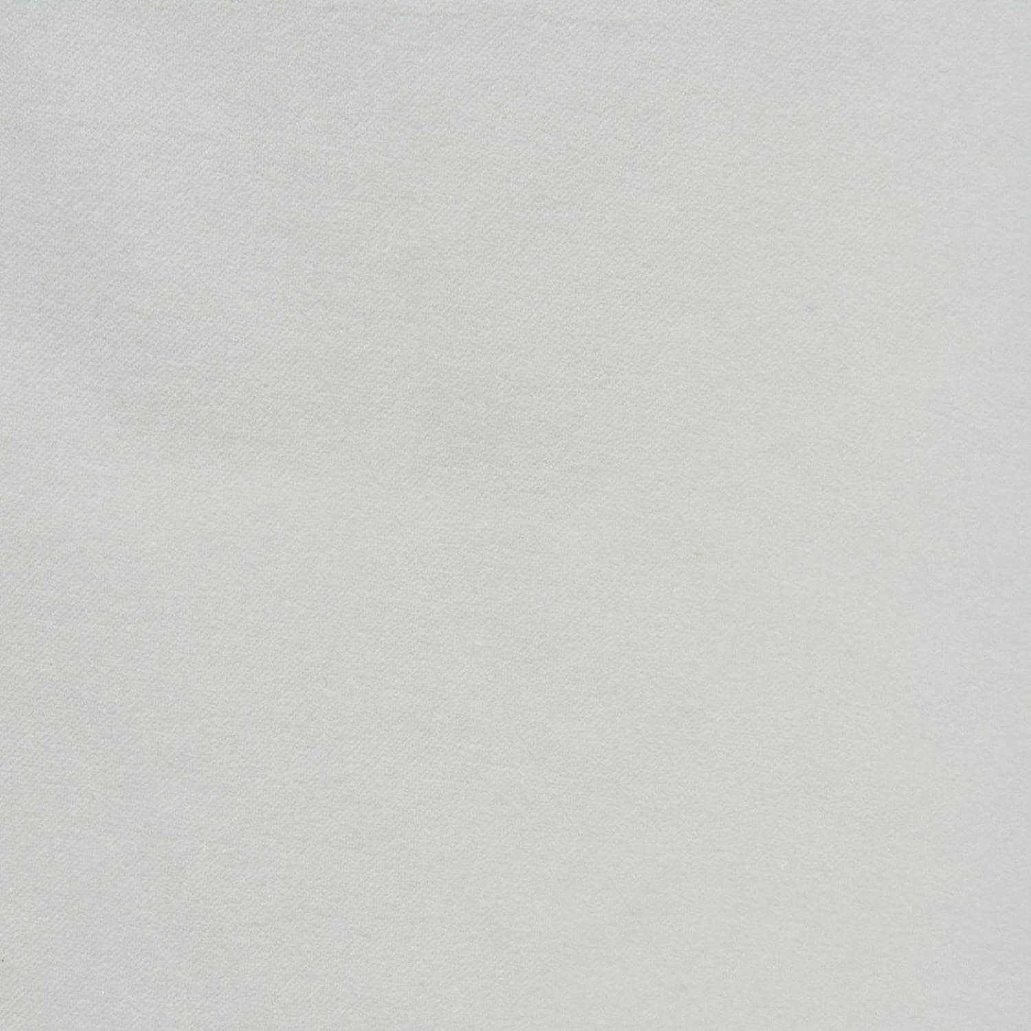 White Vintage Cotton Velvet Swatch