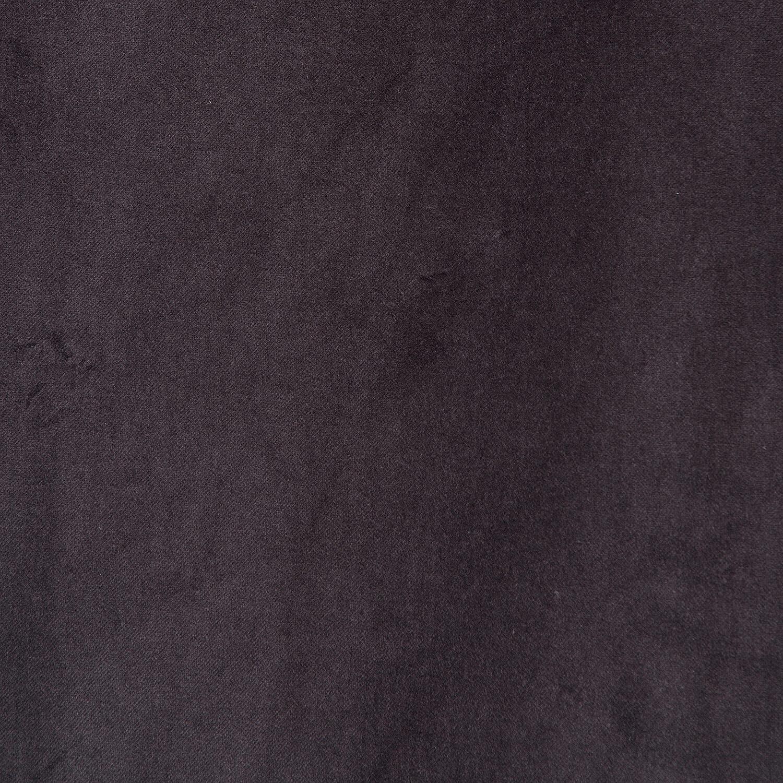 Charcoal Vintage Cotton Velvet Swatch