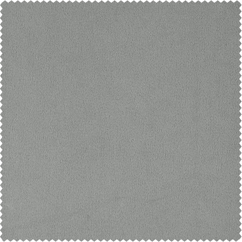 Signature Silver Grey Blackout Velvet Swatch