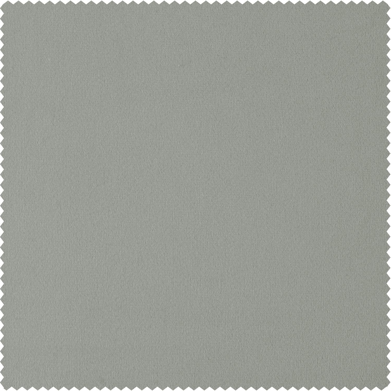 Signature Reflection Grey Doublewide Velvet Swatch