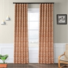 Nouveau Rust Blackout Curtain