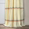New Day Multicolor Silk Stripe Curtain