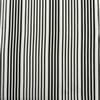 Replay Metal Grey and Black Silk Stripe Swatch
