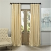 Morley Textured Solid Designer Silk Curtain