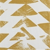 Triad Gold Printed Cotton Twill Swatch