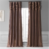 Copper Brown Faux Silk Taffeta