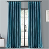 Meditteranean Blackout Faux Silk Taffeta Curtain