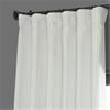 Eggshell Blackout Faux Silk Taffeta Curtain