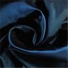 Navy Blue Grommet Blackout Faux Silk Taffeta Curtain