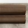 Mushroom Grommet Blackout Faux Silk Taffeta Curtain