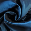 Azul Faux Silk Taffeta Curtain