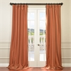 Harvest Orange Faux Silk Taffeta
