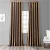 Regency Faux Silk Taffeta Stripe Curtain