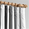 Presidio Faux Silk Taffeta Stripe Curtain