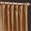 Brown Gold Thai Silk Curtain