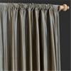 Sea Blue Thai Silk Curtain