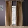 Dusty Gold Thai Silk Curtain