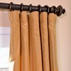 Dijon Gold Silk Taffeta Curtain