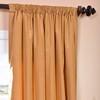 Dijon Gold Silk Taffeta Curtain