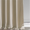 Signature Cool Beige Grommet Blackout Velvet Curtain
