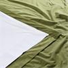 Signature Pernial Green Grommet Blackout Velvet Curtain