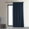 Midnight Blue Doublewide Blackout Velvet