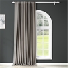 Neutral Grey Extra Wide Blackout Curtain