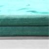 Splashy Turquoise Textured Dupioni Silk Fabric