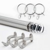 Glass Stacked Rod Set - Nickel