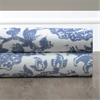 Edina Blue Printed Cotton Fabric