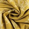 Isles Mustard Printed Cotton Fabric